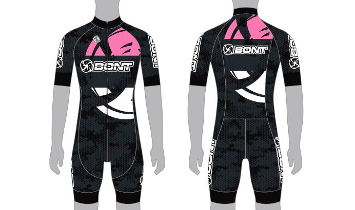 Bont 2020 võistluskombinesoon, roosa