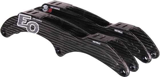 EOSkates carbon raam 3x125mm