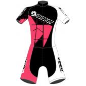 Bont võistluskombinesoon roosa/must/valge
